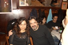 With Hosein Alizadeh