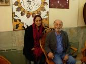 With Parviz Pur Hosseini