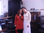with Miriam Peretz