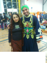 with Emad Selim 2013 oriental Festival